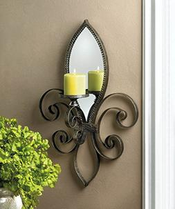 Candle Sconces Wall Lantern Hanging Decorative Holder Bathro