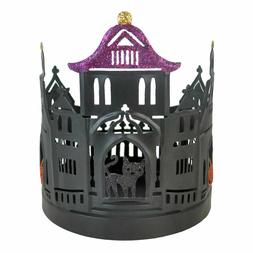 Sonoma Candles Large Halloween House Candle Holder   *New*