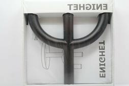 IKEA CANDLESTICK TRISULA BLACK METAL, ENIGHET CANDLE HOLDER