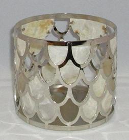 Bath and Body Works White Barn Capiz Shell Scales Candle Sle