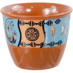 Ceramic Pillar Candle Holder and Smudge Pot