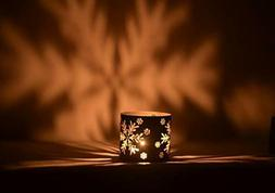 christmas metal iron candle holder table candlestick