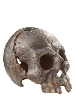 Victorian Trading Co Cast Iron Halloween Skull Macbeth Candl