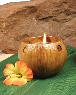 Costumes for all Occasions FF860021 Coconut Tealight Candle