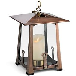 H Potter Craftsman Candle Lantern Decorative Table Top Indoo
