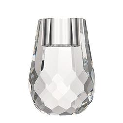"""DONOUCLS Hand Cut Crystal Candle Holder 6x8cm/2.4x3.2"""" Clear"""