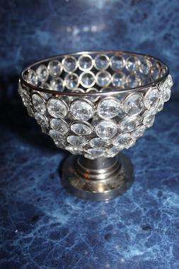 VINCIGANT Crystal Candle Holder for Home Decor/Wedding Table