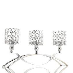 VINCIGANT Crystal Candle Holder Table Candelabras,3 Candle S
