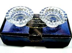 Darby crystal candleholder candle holder set for tapers