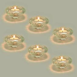 Crystal Diamond Tealight Candle Holder Clear Set Of 6 Crysta