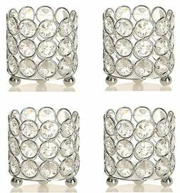 Crystal Votive Candle Holders Cups For wedding Table centerp