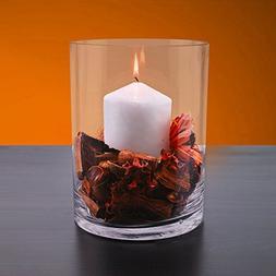 CYS EXCEL Glass Vase, Cylinder Vase, Glass Cylinder Vase,