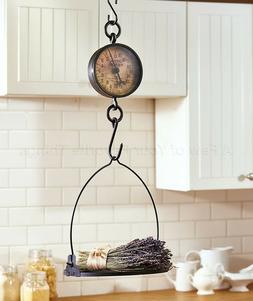 Decorative Antiqued Farmhouse Kitchen Scale Candle Holder Co