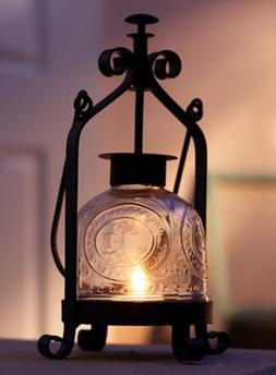 Ryocas Decorative Hurricane Candle Lantern - Vintage/Retro S