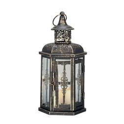 Black Decorative Metal Lanterns Vintage Style Hanging Lanter