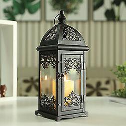 Decorative Metal Candle Lanterns Vintage Style Hanging Candl