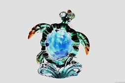 Puzzled Decorative Tea Light Candle Holder - Sea Turtle