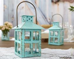 Distressed Metal Vintage Decorative Mini Lantern Candle Hold