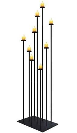 smtyle DIY Floor Candle Holder Large Candelabra 70 inch Tall