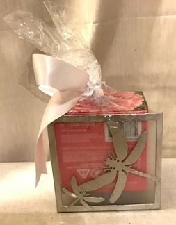 Yankee Candle Dragonfly Tea Light Holder Gift Set with 12 Pi