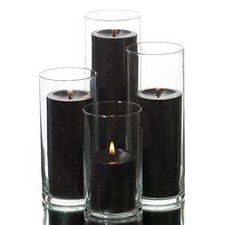 Eastland Cylinder Pillar Holder & Richland Pillar Candles Bl