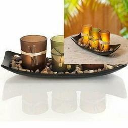 Electric Candle Holder Candlescape Set Flameless Candle Hold