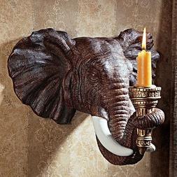 Design Toscano Elephant Wall Sconce