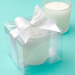 <em>Perfectly Plain Collection</em> Candle Favors, 1