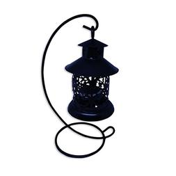 Dandy Delight Euro Style Vintage Outdoor Candle Lantern, Vin
