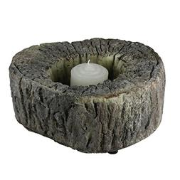 """Melrose 6.75"""" Eye-Catching Textured and Rustic Woodland Tree"""