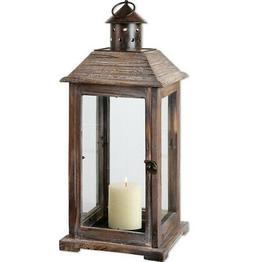 Farmhouse Tuscan Old World Style Lantern Design Candleholder