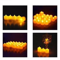 Midafon 24 Pcs LED Flameless Candles Votive Candles Flickeri