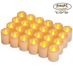 comenzar Flameless Candles, Votive Candles Set 16 Led Tea Li