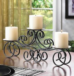 Gifts & Decor Tuscan Candle Holder Wrought Iron Wedding Cent