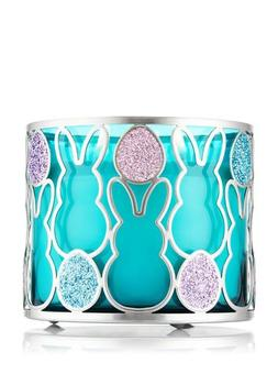 Bath and Body Works Glittered Easter Bunny 3 Wick Candle Sle