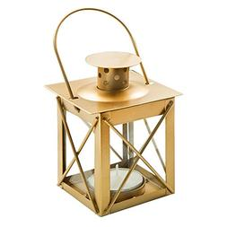 Fashioncraf Gold Mini Lantern Tea Light Candle Holders for P