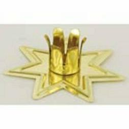 Gold-toned Fairy Star Chime Candle Holder CHT260