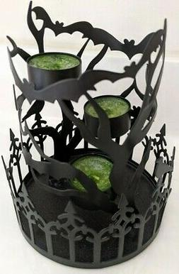 Yankee Candle~Halloween Bat's Tea Light Candle Holder  New