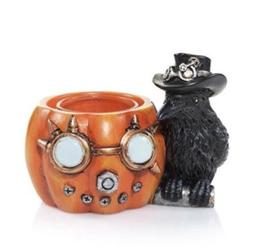 Yankee Candle  ALL HALLOWS EVE LARGE WHITE GHOST TEA LIGHT C