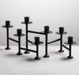 Hearth & Hand with Magnolia Candelabra Candle Holder - Black