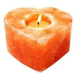 Himalayan Salt Heart Candle Holder