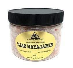 Himalayan Salt Organic Pink Crystals Coarse/Medium Grain Unr