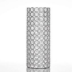 VINCIGANT Cylinder Decorative Flower Vases for Artificial Bo
