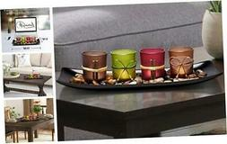 Home Decor Candle Holders Set for Bathroom Decorations - Can