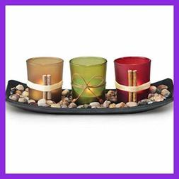 Home Decor Candle Holders Set For Living Room & Bathroom Dec