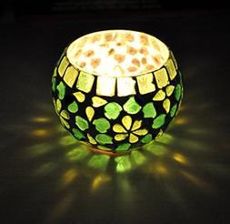 Lalhaveli Indian Designer Table Decorative Votive Candle Hol
