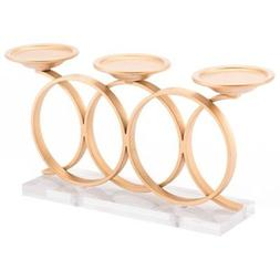 Zuo Infinity Candle Holder, Gold