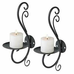 Iron Candle Holder Wall Art Candle Hanging Candle Holder Hom