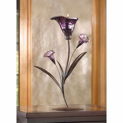 Koehler Home Wedding Crystal Twilight Bloom Lily and Flowerb