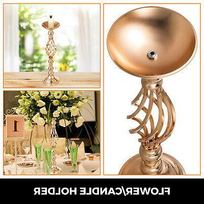 4pcs Set Wedding Metal Flower Centerpiece Vase